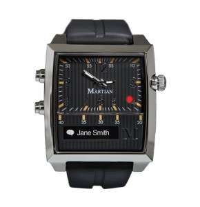 Martian Smartwatch - one of the more popular smartwatches due to it's classic design